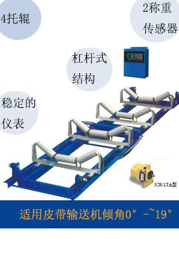 17a型电子皮带秤称重物料